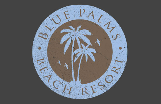 blue palms final 15 Excellent tutorial on Logo design in Adobe Illustrator