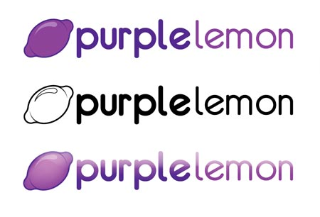 purple lemon logo 15 Excellent tutorial on Logo design in Adobe Illustrator