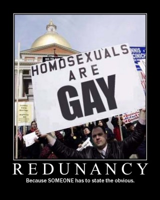 redundancy-gay-stupid