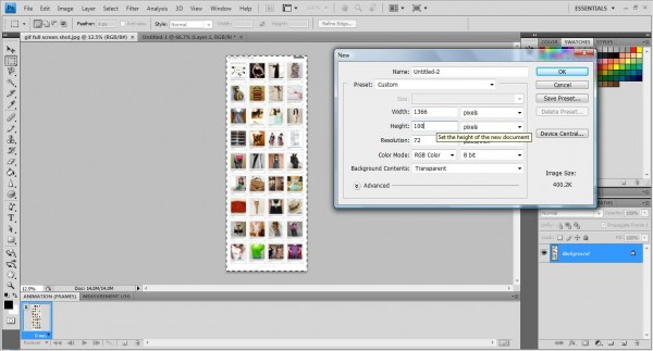 photoshop gif maker 1 1 600x323 How to make animated GIFs extension file using Photoshop