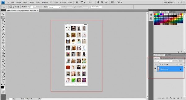 screenshot gif make photoshop 600x323 How to make animated GIFs extension file using Photoshop